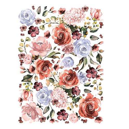 Redesign Decor Transfer - Rose & Rouge