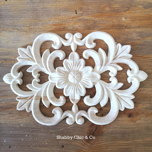 Wooden Furniture Applique - 17 x 10cm