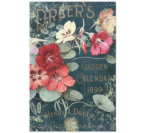 Antique Garden - Decoupage Tissue Paper