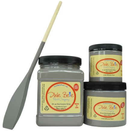 DIXIE BELLE CHALK MINERAL PAINT Hurricane Gray AVAILABLE FROM BRISBANE AUSTRALIA