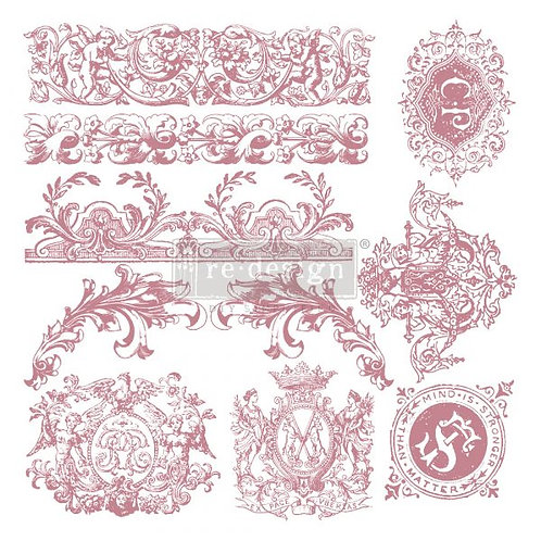 CHATEAU DE SAVERNE - REDESIGN DECOR CLEAR CLING STAMPS