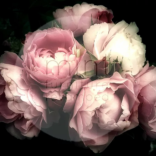 Moody Florals - MINT Decoupage Paper