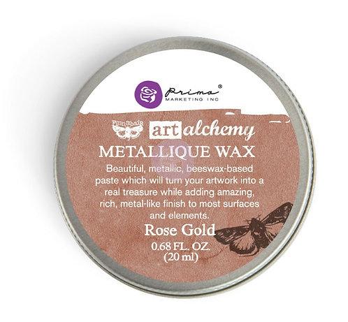 Rose Gold - Finnabair Metallique Wax (Art Alchemy)