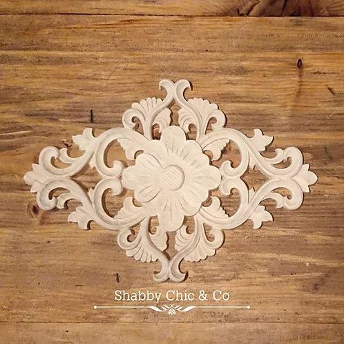 Wooden Furniture Applique - 10.5x 15 cm