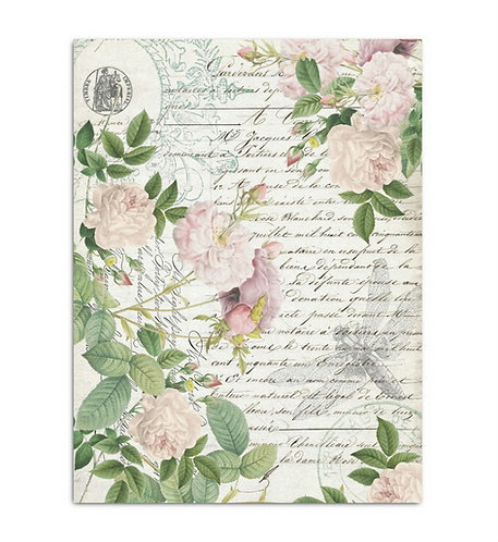 Apothecary Style - Decoupage Tissue Paper