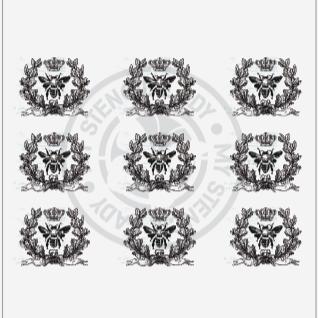 My Stencil Lady Designer Transfers - T152