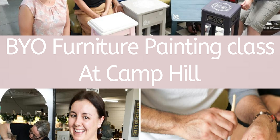 Sunday - BYO Little Furniture Painting Workshop