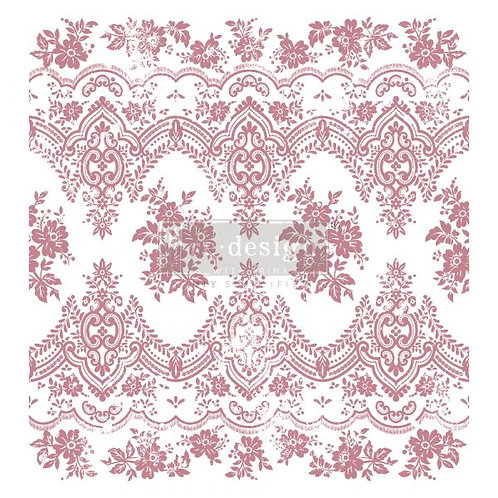 VINTAGE WALLPAPER - REDESIGN DECOR CLEAR CLING STAMPS