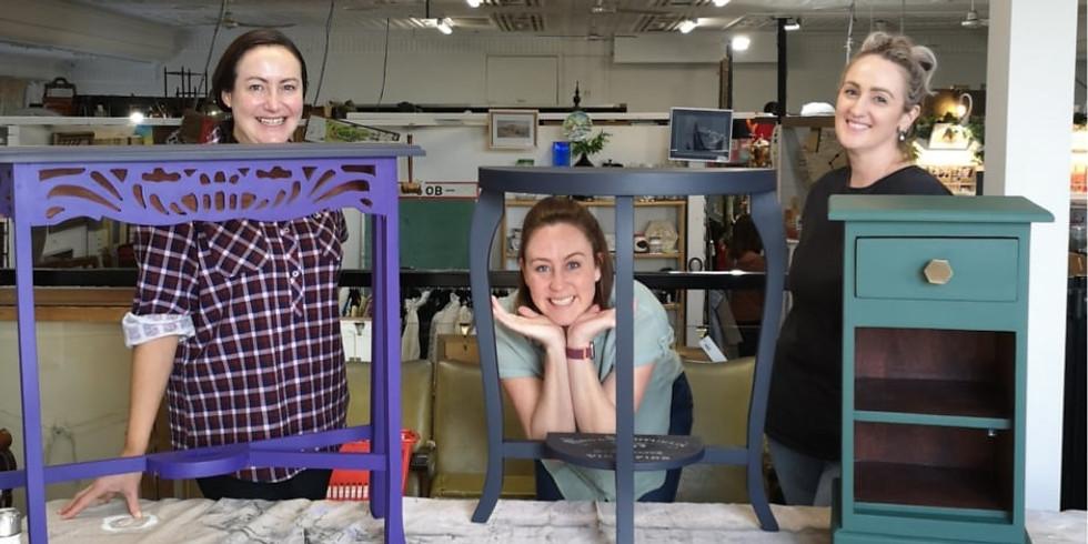 Saturday - BYO Little Furniture Painting Workshop (Ashmore)
