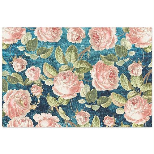 Vintage Roses - Decoupage Tissue Paper