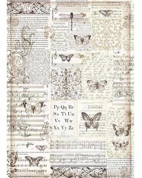 A3 Rice Paper - Butterflies 3003