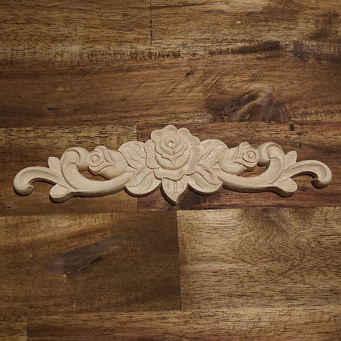 Wooden Furniture Applique - 20 x 5 cm