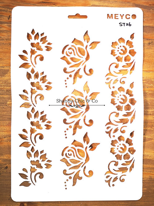 Stencil Template - STXL26