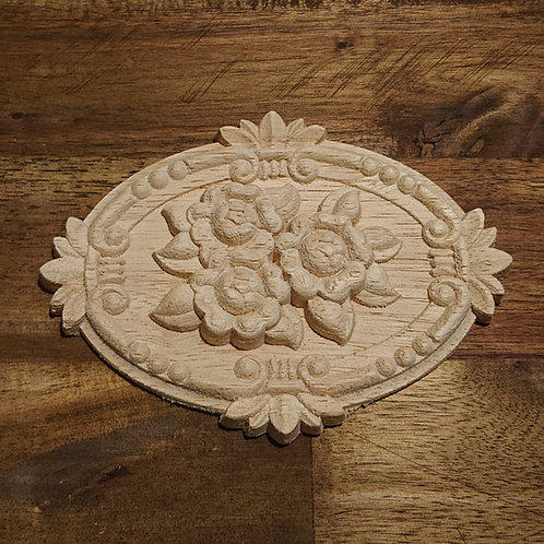 Wooden Furniture Applique - 15 x 21 cm