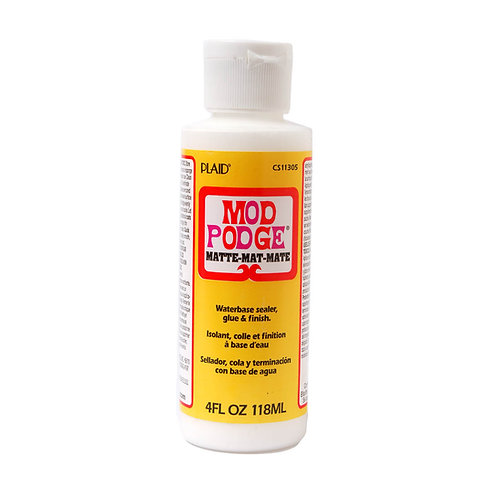 PLAID MOD PODGE MATTE 4oz