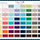 DIXIE BELLE CHALK MINERAL PAINT COLOR CHART AVAILABLE FROM BRISBANE AUSTRALIA