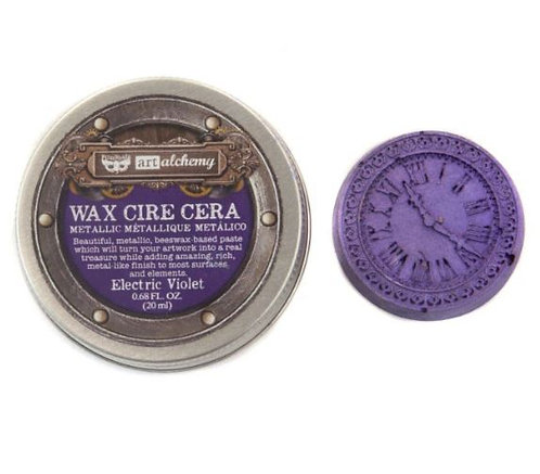 Electric Violet - Finnabair Metallique Wax (Art Alchemy)