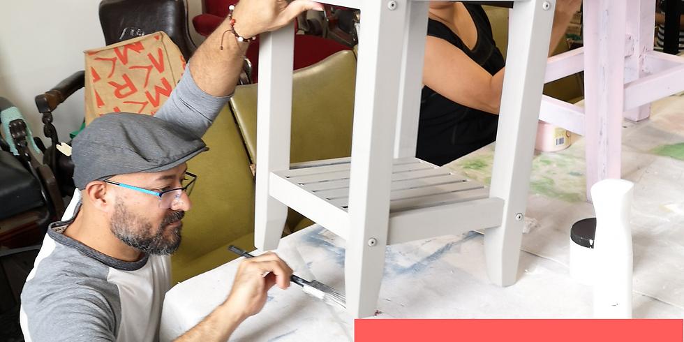 Saturday - BYO Little Furniture Painting Workshop