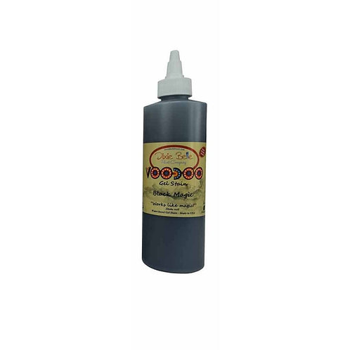Voodoo Gel Stain - Voodoo Gel Stain Black Magic 8 oz (236ml)