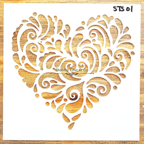 Stencil Template - STS01
