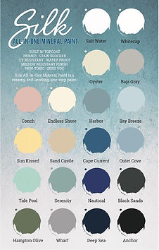 Silk all in one mineral paint color char
