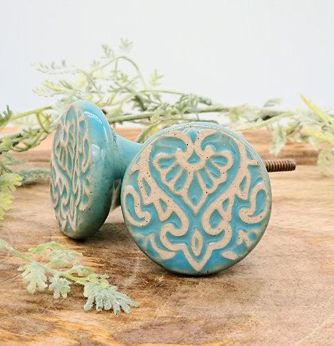 Handmade Ceramic Door Knob - Paz