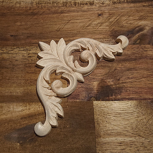 Wooden Furniture Applique - 9 x 9 cm