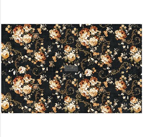 Dark Floral - Redesign Decoupage Tissue Paper