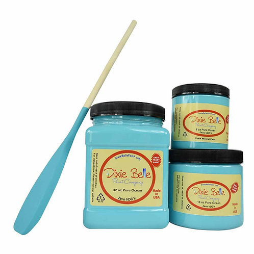 DIXIE BELLE CHALK MINERAL PAINT Pure Ocean AVAILABLE FROM BRISBANE AUSTRALIA