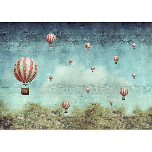 Balloons   - MINT Decoupage Paper
