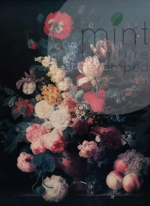 Renaissance Flowers - MINT Decoupage Paper