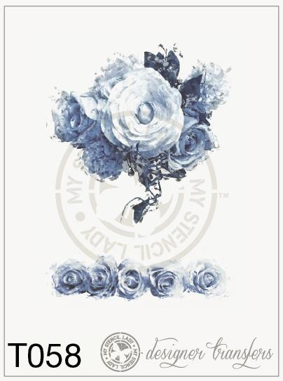 Stencil Lady Designer Transfers - T058