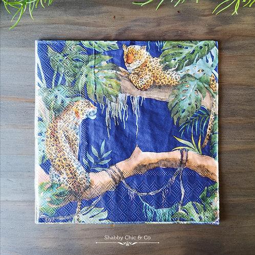 Decoupage Paper Napkins (pkt of 2) -  Cheetahs