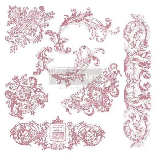 CHATEAU DE MAISONS - REDESIGN DECOR CLEAR CLING STAMPS