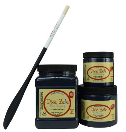 DIXIE BELLE CHALK MINERAL PAINT In the Navy AVAILABLE FROM BRISBANE AUSTRALIA