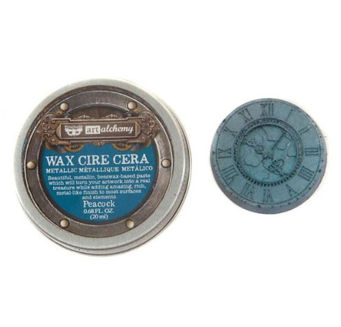 Peacock - Finnabair Metallique Wax (Art Alchemy)