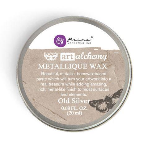 Old Silver - Finnabair Metallique Wax (Art Alchemy)
