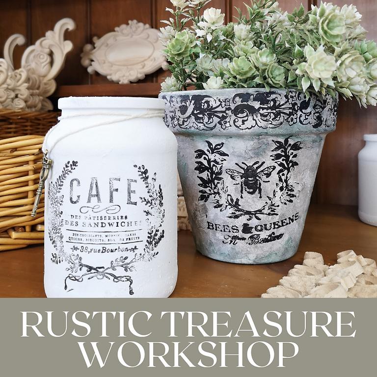 Saturday -  Rustic Treasure Workshop at The Lounge