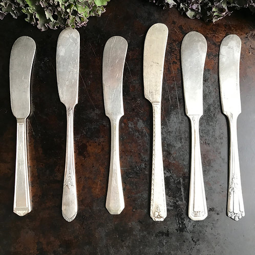 Antique Butter Knifes Style B