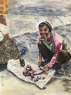 The Nepali Fishmonger