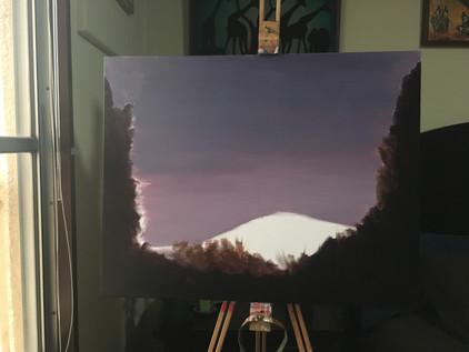 Starry Skies, Mt Fuji