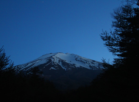 Mt Fuji and the stars