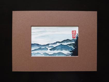 Watercoloring Japan
