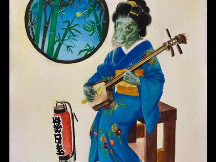The Tale of the Elusive Kimono Dragon