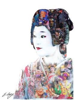 The Layering of the Kimono