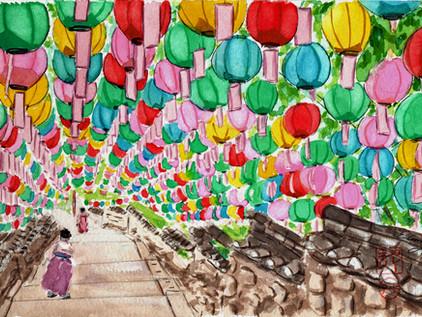 Buddha's Birthday at Beomeoso Busan