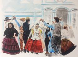 People Being xi Praia da Vitoria