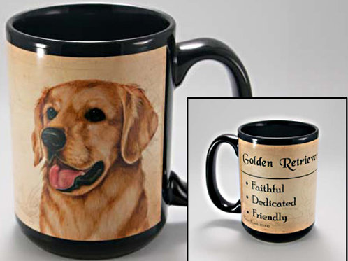 Golden Retriever - My Faithful Friend Mug