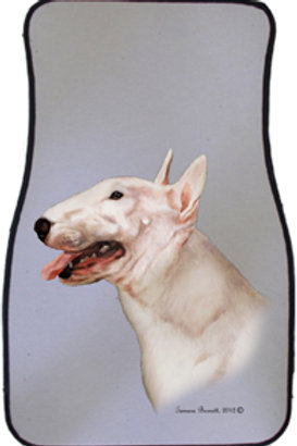 Bull Terrier Best of Breed Car Mats (set of 2)