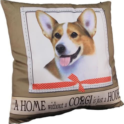 Corgi Super Soft Pillow